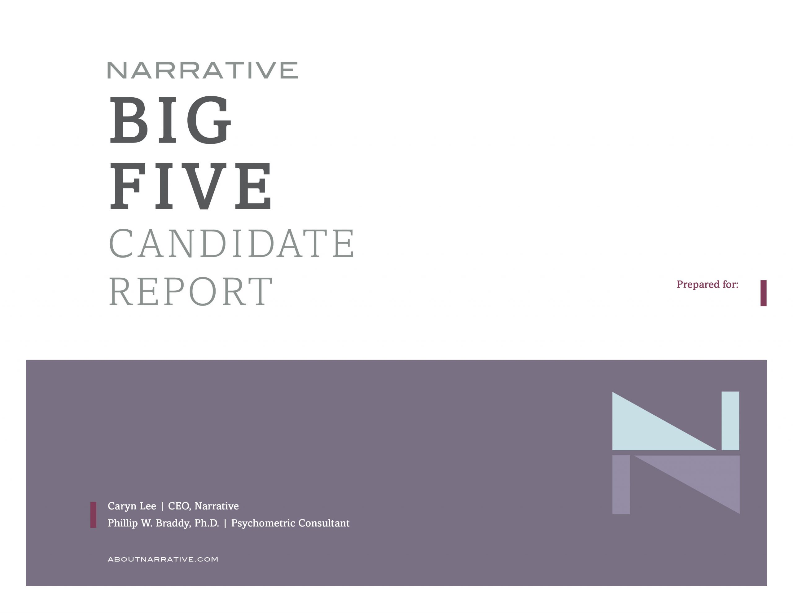 NARRATIVE CandidateReport COVER scaled